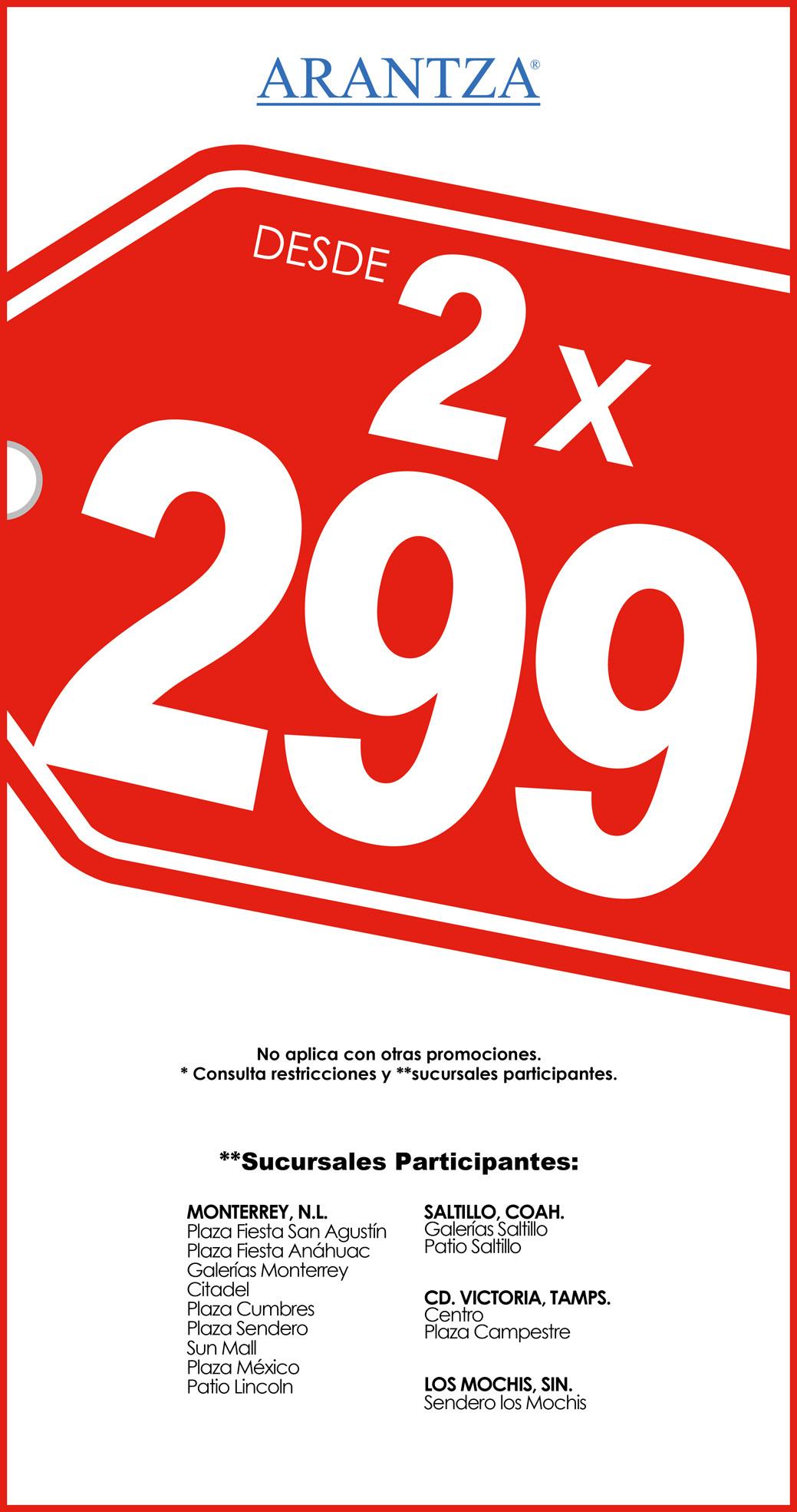 Promo 2×299